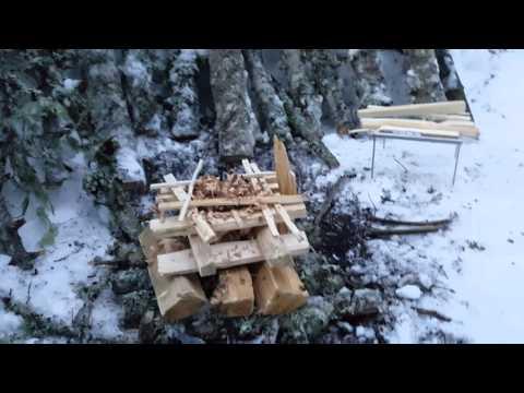 Snowshoeing, hammock camping, snow heat deflector