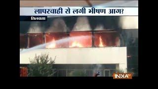 Fire breaks out in a company in Silvassa - INDIATV