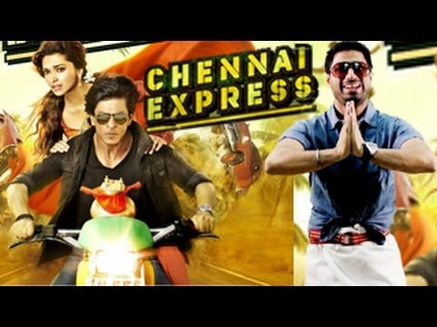 Chennai Express First Posters Out : Shahrukh Khan & Deepika Padukone