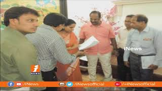 Print and Electronic Media Marketing Executives Representation To Kavitha on Their Welfare | iNews - INEWS