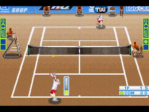Virtua Tennis - Virtua Tennis (GBA) - Vizzed.com Play - User video