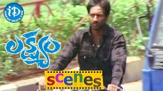 Lakshyam Movie Scenes || Gopichand Follows Jagapati Babu Dead Body || Anushka - IDREAMMOVIES
