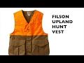 Filson Upland Hunt Vest