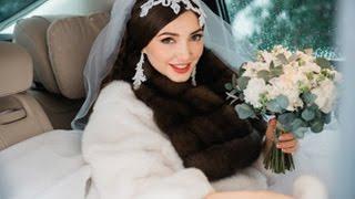 Красивая зимняя свадьба в Подмосковье - свадебное агентство Ксении Афанасьевой