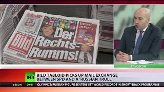 Germany's Bild duped by bogus Russian meddling 'bombshell' - RUSSIATODAY