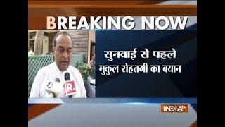 Karnataka crisis, Day 2: SC to resume hearing shortly; Mukul Rohatgi says BJP has support - INDIATV