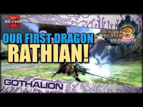 Rathian Humilated: Monster Hunter 3 Ultimate
