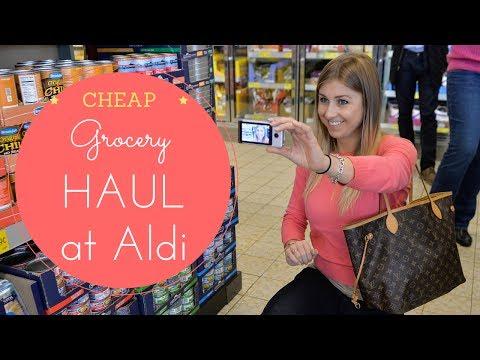 HAUL   Shopping at ALDI