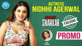 iSmart Shankar Actress Nidhhi Agerwal Exclusive Interview - Promo || Talking Movies With iDream - IDREAMMOVIES