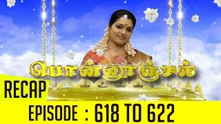 Ponnoonjal Episode 618 to 622 Recap of This Week's Episodes – Sun TV Serial