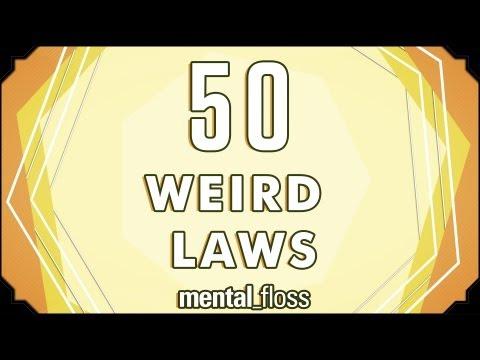 50 weird laws