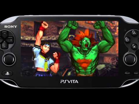 Street Fighter X Tekken PS Vita Captivate Gameplay Video 01
