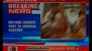 Air hostess death case: Mayank Singhvi sent to judicial custody for 14 days - NEWSXLIVE