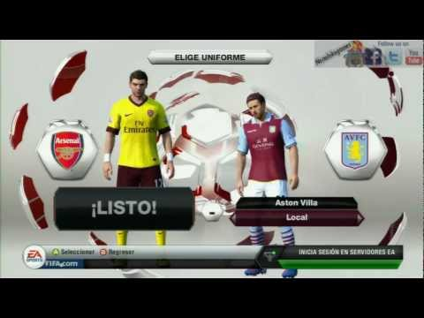 FIFA13 Premier League Rating & Kits - Fifaallstars.com