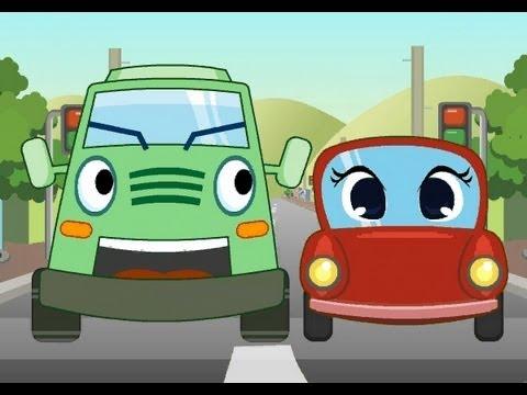 Muffin Songs – Wheels On The Bus  İngilizce Tekerlemeler ve İngilizce Çocuk Şarkılar