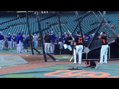Brandon Belt takes BP