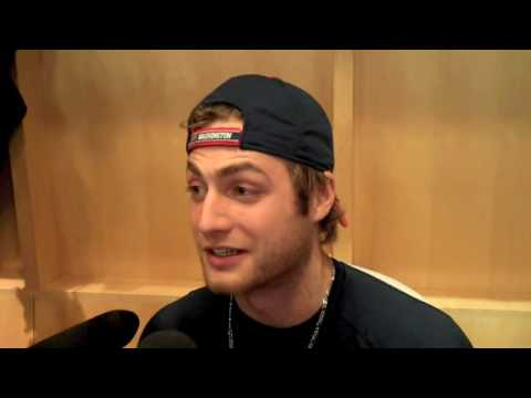 Braden Holtby Interview in Caps' Locker Room