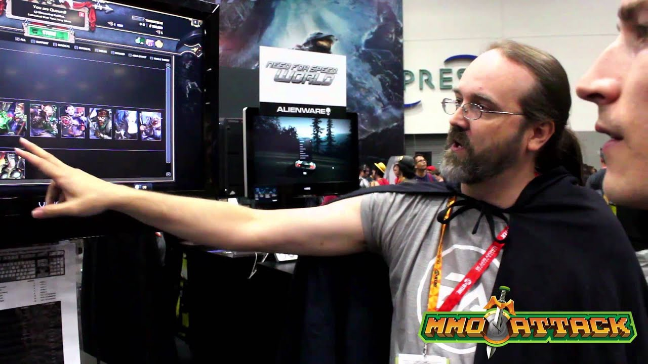 Warhammer Online, Wrath of Heroes Interview - Comic Con 2012