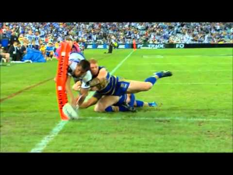 Ben Barba Magic Try Against Eels