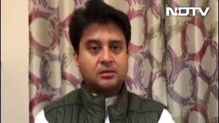 जनता के निर्णय का पालन करना सभी जनसेवकों का कर्तव्य: ज्योतिरादित्य सिंधिया - NDTVINDIA