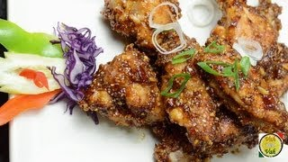 Chicken Wings Peanut Sauce ..