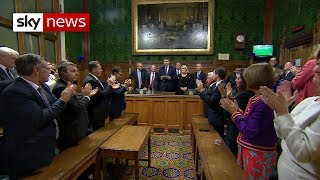 Breaking News: Theresa May wins vote of confidence - SKYNEWS