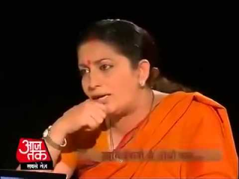 Aajtak - Censored Video (Smriti Irani Slapping Paid Media)