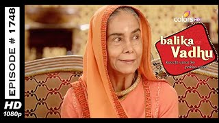 Balika Vadhu : Episode 1740 - 25th November 2014