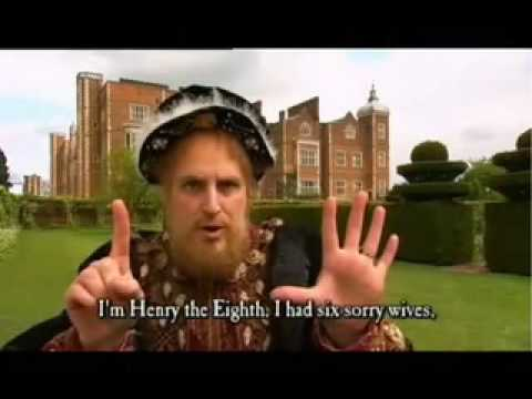 HORRIBLE HISTORIES The Wives of Henry VIII Terrible Tudors