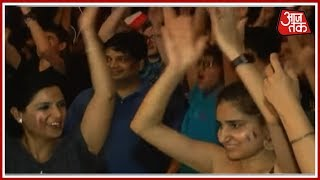 Celebrations Erupt In Delhi's French Embassy As France Wins 2018 FIFA World Cup - AAJTAKTV