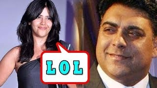 Ekta Kapoor makes fun of Ram Kapoor