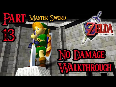 Zelda Ocarina of Time 100% Walkthrough Widescreen HD Part 13 - The Master Sword