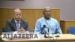 OJ Simpson granted parole after nine years in prison - ALJAZEERAENGLISH