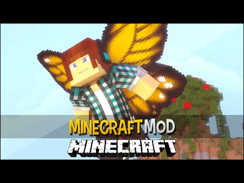 Minecraft Mod: Seja Uma Borboleta !! - Cosmetic Wings Mod