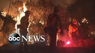 Evacuation ordered as wildfire Charlie grows - ABCNEWS