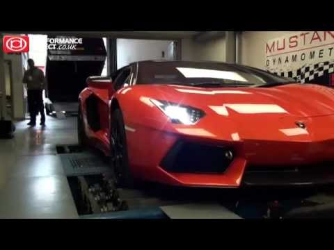 Lamborghini Aventador modified by Oakley Design - Dyno & Speed Test