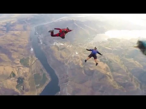 Friday Freakout: Sketchy Wingsuiter Almost Kills Group Of Skydivers