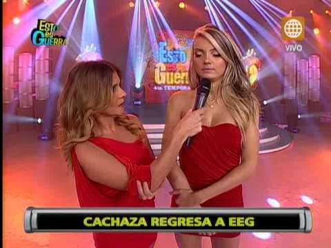 'Cachaza' volvió a 'Esto es Guerra' y lloró por Rafael Cardozo