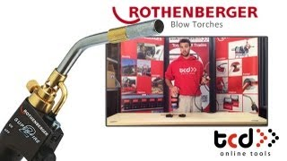 Used fully working ROTHENBERGER Super Fire 2 Brazing// soldering Torch