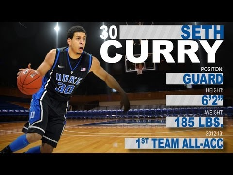 Seth Curry - Duke - Official Highlights - 2013 NBA Draft