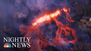 Hawaii Volcano Erupts, Launching Ash And Smoke 30,000 Feet High | NBC Nightly News - NBCNEWS