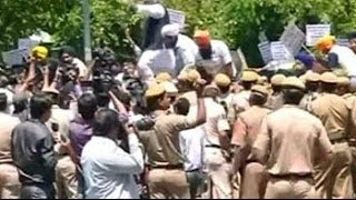 Protests at Congress office over Captain's clean chit to Tytler - NDTVINDIA