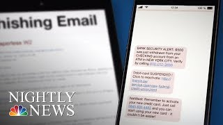 'Smishing' Cyber Attacks Target Customers Via Text Message | NBC Nightly News - NBCNEWS
