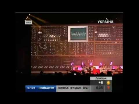 Results J.M. Jarre concert in Kyiv TRK Ukraina TV channel