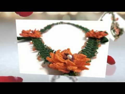 Hand made crochet jewelry