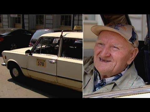 Wyjątkowa taksówka 81-latka
