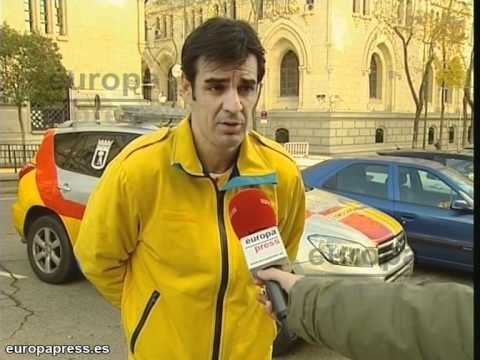 Ciclista sufe un accidente en el Monte del Pardo