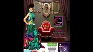 Eva Goudiaby Gabarra - Afrodisiac Fashion Show Paris 2012 - 2eme Edition
