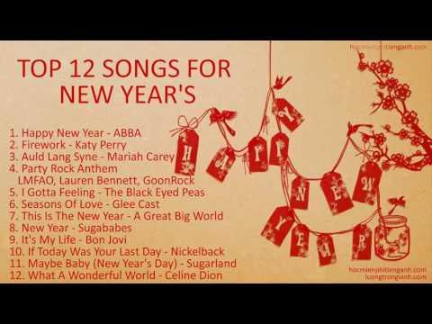 12 bài nhạc Tết mừng năm mới bằng Tiếng Anh hay nhất