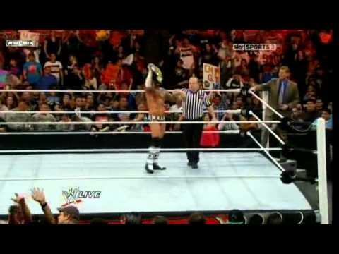 WWE Raw 9th Jan 2012 full video